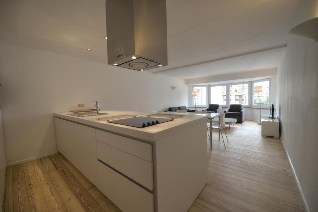 Appartement residentie van gogh knokke heist côte belge belgique