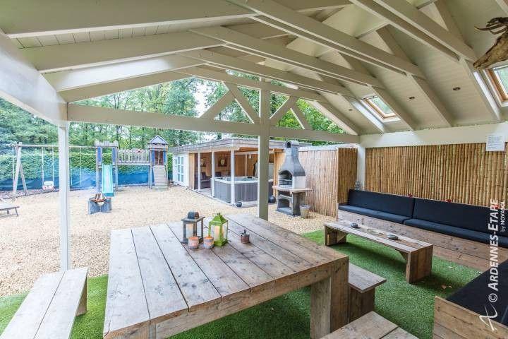 Vakantiewoning chalet interwood barvaux sur ourthe for Zwemspa prijzen