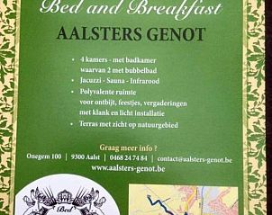 Guest house 020210 • Bed and Breakfast East Flanders • Aalsters genot